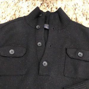 Black Banana Republic merino wool sweater